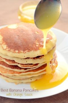 Best Banana Pancakes are the only recipe you'll need to satisfy your morning food craving. Fluffy and crispy at the same time, these are mood-lifter.