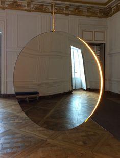 Olafur Eliasson, Solar Compression, (2016), at Château de Versailles.