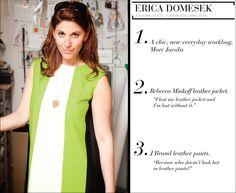 Erica Domesek's holiday wishlist.