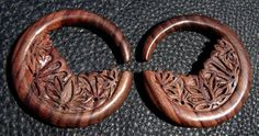 Hey, I found this really awesome Etsy listing at https://www.etsy.com/listing/171428633/lotus-hoop-ear-plugs-00-gauge