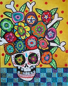 Google Image Result for http://www.ebsqart.com/Art/Sami-Valens-Art/acrylic-on-canvas/649856/650/650/Day-of-the-Dead-Flowers-2.jpg