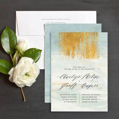Modern Bohemian Wedding Invitations by Jennie   Elli