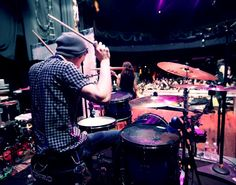 Luke Holland rocking his signature Seven Drumworks set Music Is Life, My Music, Luke Holland, Fearless Records, The Word Alive, Drum Kits, Save My Life, Rock And Roll, Drums