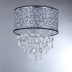 Spiraling Crystal Chandelier | Overstock™ Shopping - Great Deals on Warehouse of Tiffany Chandeliers & Pendants