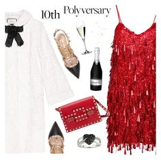 """10th Polyversary!"" by mada-malureanu on Polyvore featuring Ashish, Gucci, Valentino, Riedel, Ice, polyversary, contestentry and polyvoreeditorial"