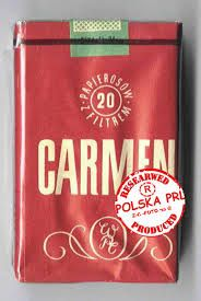 High quality cigarettes of polish socialist times, domestic competition for Marlboro.