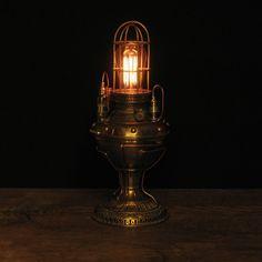 lamps, steampunk fashion, diy steampunk, steampunk stuff, steampunk light, steampunk lamp, steam punk, steampunk glori, steampunk ambienc