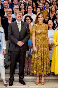 King Willem-Alexander and Queen Maxima made a visit to the...