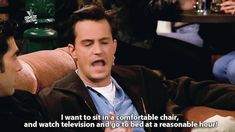 Being 29 as told by Chandler Bing