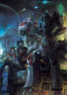 TFP Cybertron golden age by GoddessMechanic.deviantart.com on @deviantART