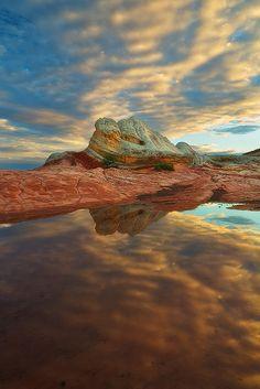 ✯ Reflected - White Pocket, Vermillion Cliffs Wilderness, AZ