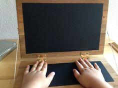 Laptop selber bauen und mit Tafelfarbe streichen