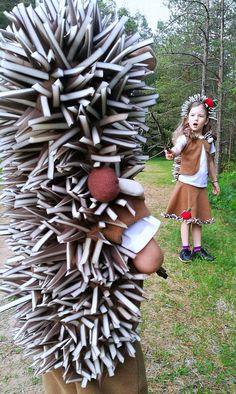 Hedgehog costume / Toddler Costume/ Kids Costume / hedgehog