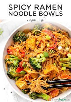 #CurryNudelschalen #Rote #vegane       Vegane rote CurryNudelschalen  #abendessen #einfach #rezepte #vegane