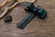 Leather Keychain Leather Keyring Key Fob Gift for Him Gift
