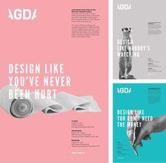 AGDA Legal Seminar Poster Series - Marie MacGregor Portfolio - The Loop