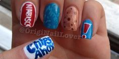 Chips Ahoy Cookie Nails
