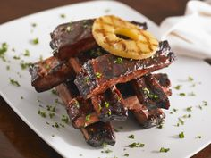 These sweet and sour spareribs are baked to tender, juicy perfection with a sweet and sour saucePineapple, vinegar, and ketchup make up the sauce.