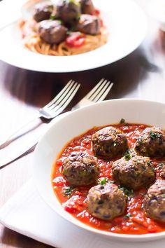 Spicy Turkey Meatballs with Veggies