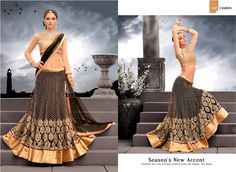 This designer Lehenga is one of the most fast selling products at Variety Haat. If you are looking for a beautiful Lehenga for any occasion such as parties/wedding/ events / family functions, then this Lehenga can a good choice.  Price- £ 63