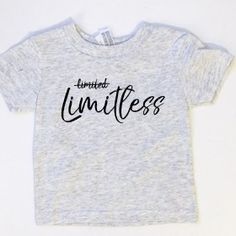 Limitless in Jesus- Kids apparel by Free Citizen Co. www.freecitizenco.com/shop