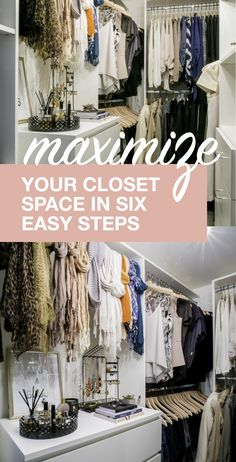 Maximize Your Closet Space in Six Easy Steps | Martha Stewart Living