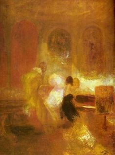 J M W Turner - Music Party, Petworth