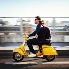 Love on two wheels. #vespavita