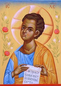 Ο Χριστός Εμμανουήλ ακριλικό