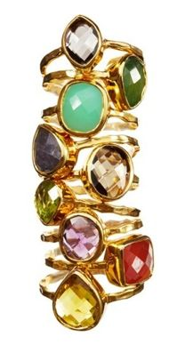 Gioielli Stackable Rings by Nikki Baker