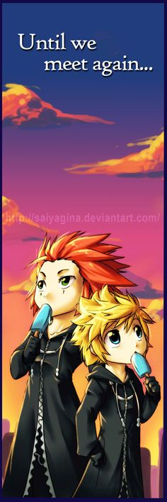 Axel-Roxas Bookmark FTW by =SaiyaGina on deviantART