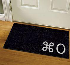 Mac Command O Doormat