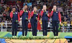 Rio. 2016 ..  Team All Around        . The Final FIVE !