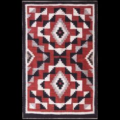 #antique #Navajo #rug. Stock Id: #21480 General Rug Type:      American Specific Rug Type:      Navajo Circa: 1930 Color: Multi Origin: USA Width: 2' 8'' ( 81.3 cm ) Length: 4' 3'' ( 129.5 cm )