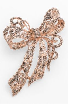 Cara Accessories Bow Brooch available at #Nordstrom