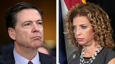Wasserman Schultz confronted Comey about Russian hacking