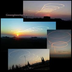 False Flag Chemical Weapons Attack Pushes WWlll, While Global Geoengineering Omnicide Continues