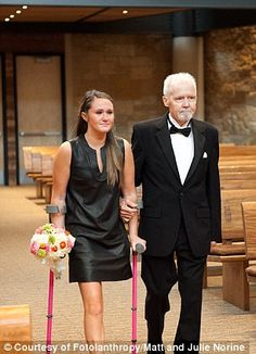 Fred Evans: dying father walks his daughters down aisle because he won't be there on wedding days | Mail Online  Read more: http://www.dailymail.co.uk/news/article-2420613/Fred-Evans-dying-father-walks-daughters-aisle-wont-wedding-days.html#ixzz2fMUQJPZF