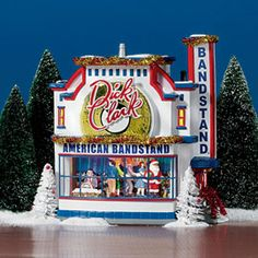 """Department 56: Products - """"American Bandstand™"""" - View Lighted Buildings"""