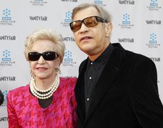 "Cast member Michael York arrives at the world premiere of the 40th anniversary restoration of the film ""Cabaret"" with his wife Patricia during the opening night gala of the 2012 TCM Classic Film Festival in Hollywood, California April 12, 2012."