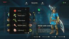 Zelda, Breath Of The Wild: Les recettes d'une pro - Technomaman Breath Of The Wild, Zelda Breath Of Wild, The Legend Of Zelda, Legend Of Zelda Breath, Game Ui, Guide, Games To Play, Breathe, Video Games