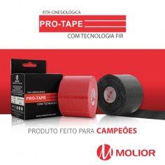 bandagem funcional elástica adesiva e/ou fita cinesiológica com tecnologia FIR - Pro-Tape