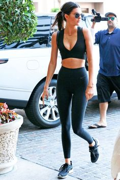 Kendall Jenner and Gigi Hadid Gym Style - Photos of Gigi and Kendall Going to the Gym