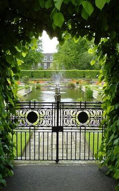 Gardens of Kensington Palace ~ Bayswater, London