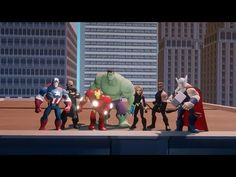 Disney Infinity:  Marvel Super Heroes (2.0 Edition) Announcement Trailer