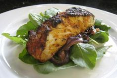 Spicy Baked Halibut - Photo: Diana Rattray