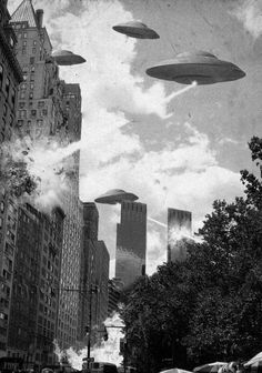 Alien invasion.