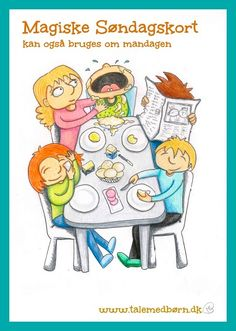 Få talt med dine børn om det der er vigtigt i jeres familie. 26 illustrerede samtale kort, der hjælper dig til at få talt med ungerne om jeres regler og normer og giver børnene mulighed for at udtrykke sig og stille spørgsmål Kortene skaber rammen til en konstruktiv dialog i familien Bestil Søndagskort inden den 15. marts og SPAR 80 Kr.  Forudbestil til Kr. 169 + forsendelse  Normalprisen Kr. 249 + forsendelse  bestil http://talmedboern.dk/produkt/magiske-soendagskort/