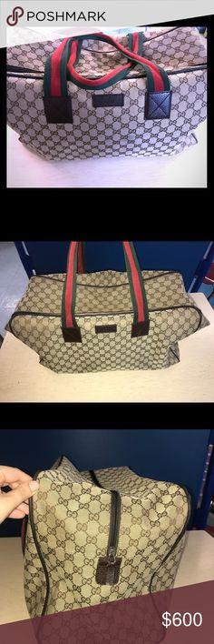 11x13x6 Multi-Purpose Leopard Design Canvas Tote Shoulder Bag with Pouch