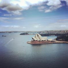 AUS:2015 Day_06 / Jørn Utzon's Sydney Opera House from the Sydney Harbour Bridge. / #sydneyoperahouse #sydney #australia #jørnutzon #architecture #sydneyharbourbridge #sydneyharbour by justinpaulware http://ift.tt/1NRMbNv